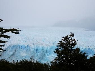 Perito Moreno vu des passerelles