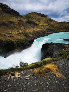 Cascade Torres del Paine