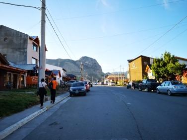 rues de El Chalten