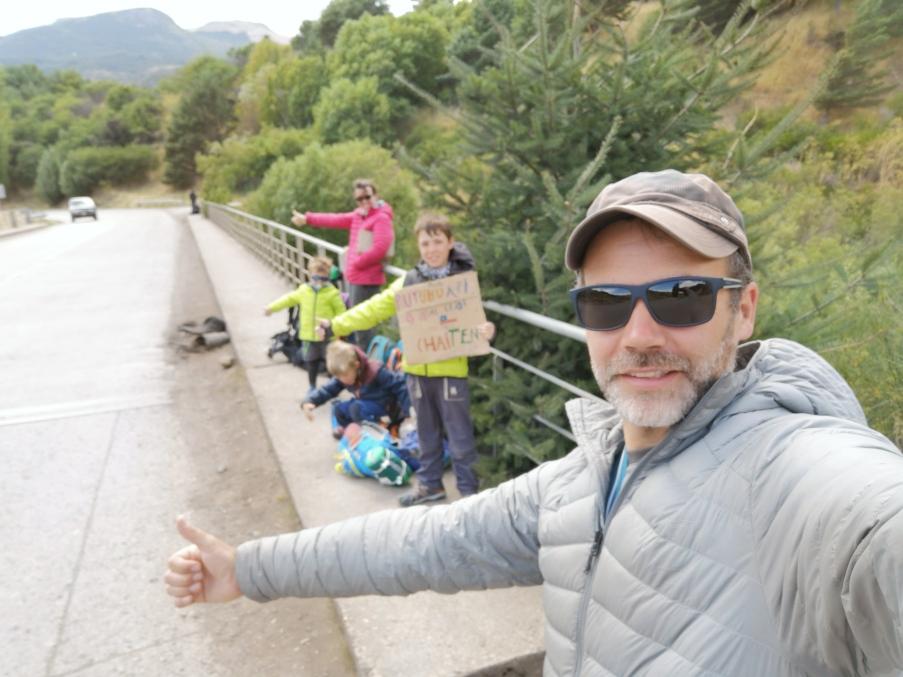 stop départ Coyhaique